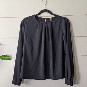 5/25$ Black Formal Blouse